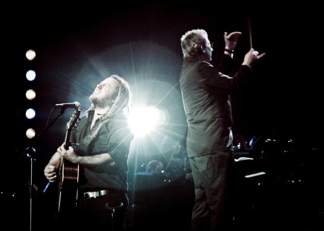 Ard Matthews at Symphonic Rocks 2010