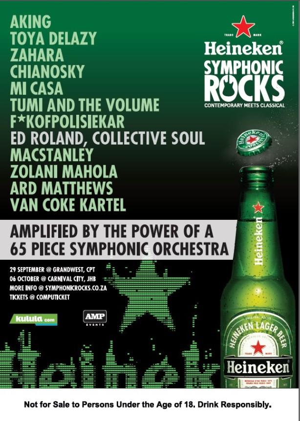 Symphonic Rocks Poster 2012