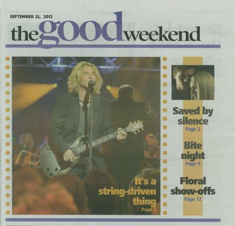The Good Weekend, 23 September 2012
